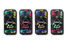 Waterproof Smartphone Cases - LifeProof and F.C.R.B. Team Up to Create this Element-Proof Phone Cas