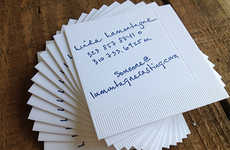 Scruffy Napkin Business Cards