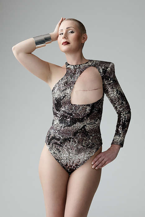 Mastectomy Survivor Photography - Monokini 2.0 Captures Images of Survivors in Unique Bathing Suits