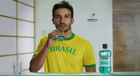 Immaculate World Cup Ads - This Listerine World Cup Ad Reminds You to Keep a Clean Mouth