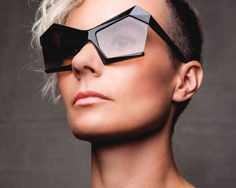 Geometric Architectural Shades - These Design Sunglasses by 13&9 Are Stunning and Futuristic