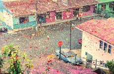 Sony's 4K Ultra HD TV Commercial Fills a Town with Flower Petals