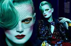 43 Examples of Edgy Beauty - From Mama Monster Fragrances to Mystical Beauty Editorials