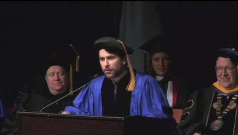 Betting On Yourself - Charlie Day's Funny Commencement Speech Dismisses Waiting For Your Big Break