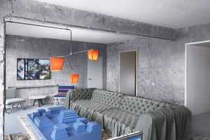 The Line Hotel by Knibb Design Features Surreal Elements