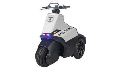 Three-Wheeler Police Segways - The Segway SE-3 Patroller is Designed for Law Enforcement Use