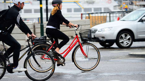 Free Bike Initiatives - The City of Gothenburg, Sweden is Giving Bikes to Commuters to Drive Less