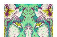 Psychedelic Tie Dye Illustrations