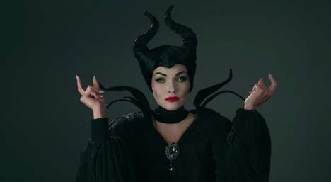 Villainous Queen Makeup Tutorials - Kandee Johnson Recreates the Perfect Maleficent Costume Makeup