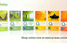 Organic Zen Hot Beverages - Qi Teas Offers a Range of Natural Specialty Products Prepared in China