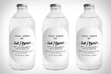 City-Customized Alcoholic Drinks - Our/Vodka Allows Locals to Give It Their Own Hometown Character