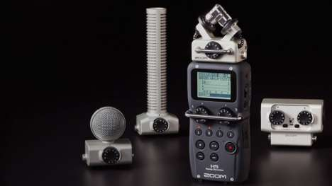 High-Performance Audio Recorders - The H5 Handy Recorder is Perfect for Audiophiles
