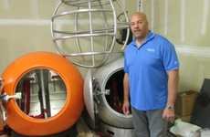 Life-Saving Tsunami Capsules - These Survival Capsules Protect Inhabitants from Natural Disasters