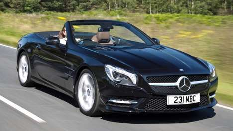 Brash Booming Convertibles - The Mercedes Benz SL 400 Sport Has Sound Woofers Built into Its Chassis