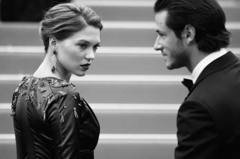Candid Red Carpet Photography - Cannes Festival 2014 by Vincent Desailly Captures Intimate Moments