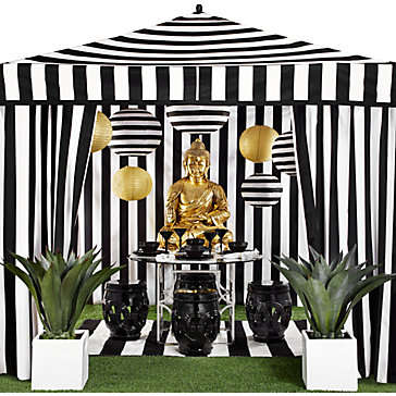 Luxe Patio Tents - The Portofino Pavilion from Z Gallerie Embodies Summer Sophistication
