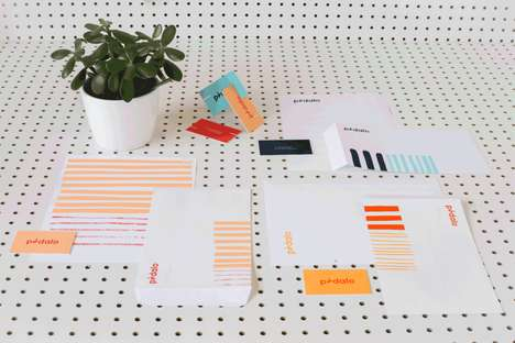 Simple Polka Dot Branding - Amy Joycey's Jovial Branding Identities are Simple and Sunny