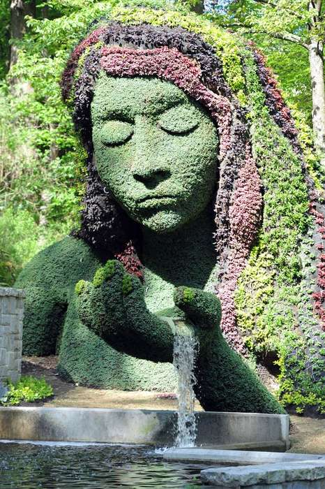 Gargantuan Living Topiaries - The Atlanta Botanical Garden Features 28 Giant Living Sculptures