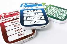 Blind-Friendly Mobile Phones - The 3D-Printed OwnFone is Equipped with Braille Buttons