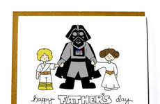 Cosmic Father's Day Cards