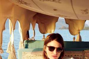 Cameron Russell Stars in the 2014 June J.Crew Style Guide