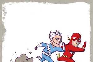 Darren Rawlings Illustrates Imaginary 'Marvel vs DC' Scenarios