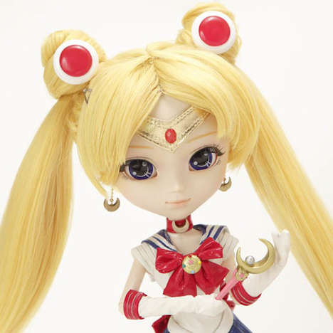 Remixed Anime Icon Dolls - This Pullip Sailor Moon Toy is Recreated for a New Generation