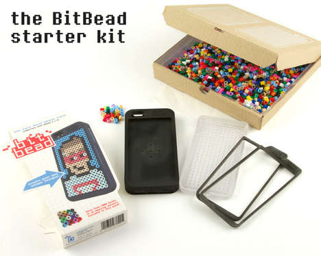 DIY 8-Bit Phone Cases - The Bit Bead Kit Lets You Make a Nostalgic DIY Phone Case Design