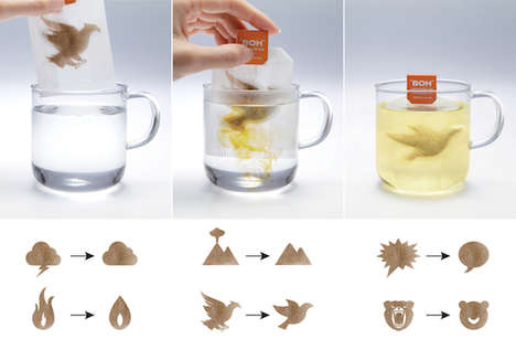 Stress-Compressing Tea Bags - BOH