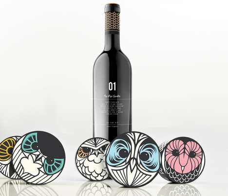 Mythical Owl Branding - The Hushh Stewards Soapery Soap Packaging Concept is Funky and Chic