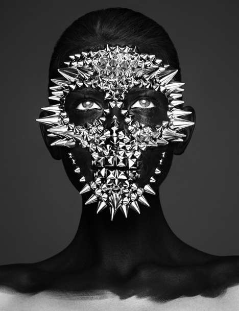 Mexican Mask Editorials - The Hunger Magazine