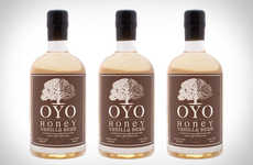 Bourbon-Treated Vodkas - The OYO Barrel-Finished Honey Vanilla Bean Vodka is Rich and Full-Bodied
