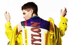 Vividly Retro Editorials - Yuji Watanabe's Power of the Colours Fashion Story Embraces Bold Hues