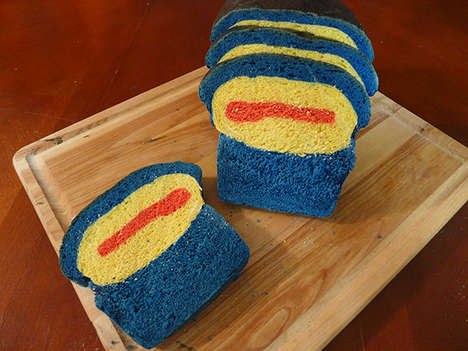Cycloptic Mutant Bread - This Bread Recipe was Created in Homage to Scott Summers of X-Men