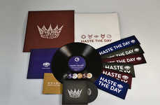 Crowned Record Packaging - Haste the Day Features Surreal Images