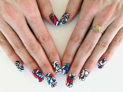 Famous Painting Manicures - Nail Art History by Susi Kenna Introduces Fine Art to the Industry