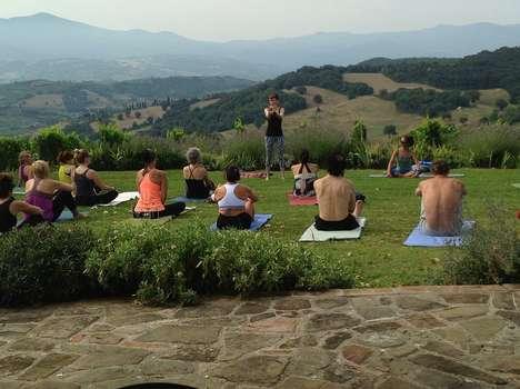 Indulgent Fitness Retreats - Sadie Nardini's Wine and Yoga Retreat Focuses on 'Healthy Hedonism'