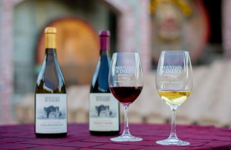 Bond-Strengthening Wineries - The Mountain Winery Offers Corporate Team-Building Activities