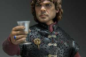 This Hyper-Realistic Tyrion Lannister Figurine is a GOT Collectable