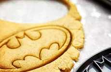 This Batman Cookie Cutter Stamp is Perfect for Nerdy Baked Goods