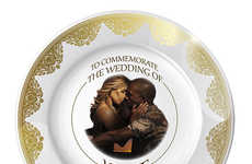 Opulent Celeb Wedding Plates