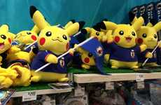 Anime Soccer Mascots - Pikachu Will Be the 2014 World Cup Mascot for Japan