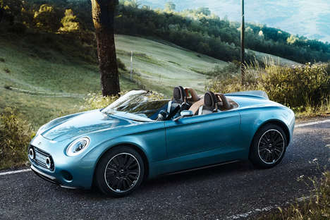 Elegantly Fused Electric Cars - The MINI Superleggera Vision Blends Elegant Coach  and Economy Car