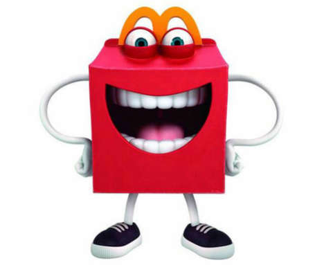 Jubliant Fast Food Mascots - These Kids are Unimpressed by McDonald's New Mascot