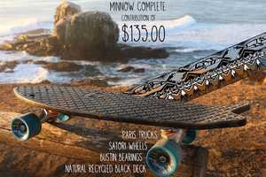Bureo Skateboards Makes Skateboards from Ocean Netting