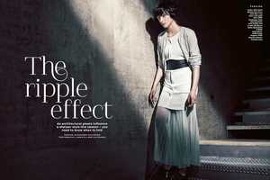 Stylist Magazine 'The Ripple Effect' Photoshoot Stars Zen Sevastyanova