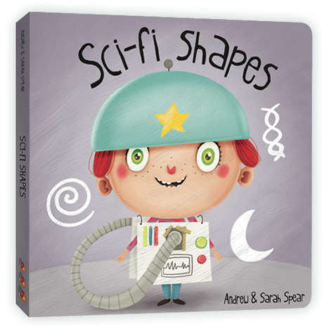Sci-Fi Learning Books - Sci-Fi Shapes and Nerdy Numbers Encourages Higher Learning