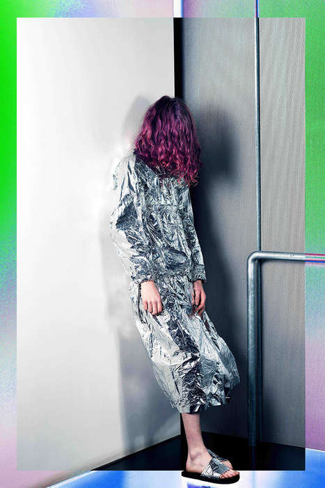Galactic Grunge Editorials - The Space Age Fashion Story by Jordan Drysdale is Futuristic