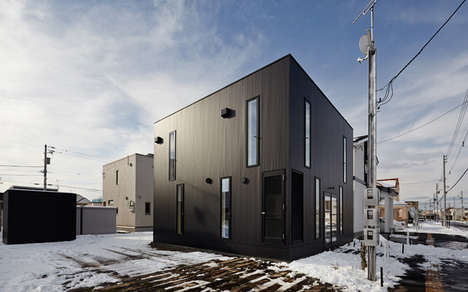 Black Boxed Abodes - The Casa Nord by Jun Igarashi Architects Has a Masculine Charm