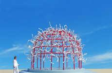 Futuristic Spherical Sculptures